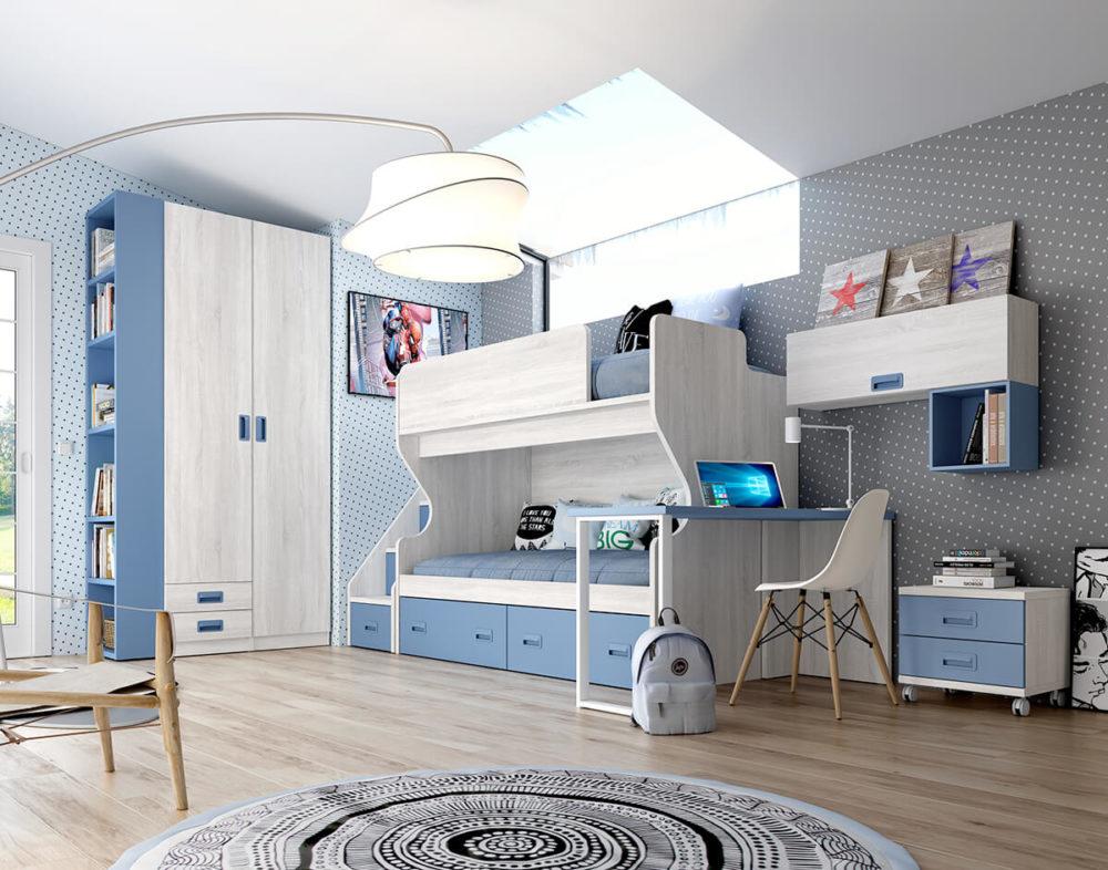 Dormitorio Juvenil ref. 076/140