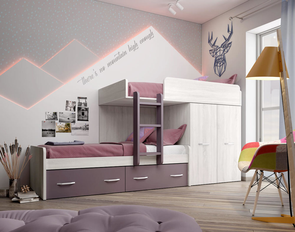Dormitorio Juvenil ref. 076/143