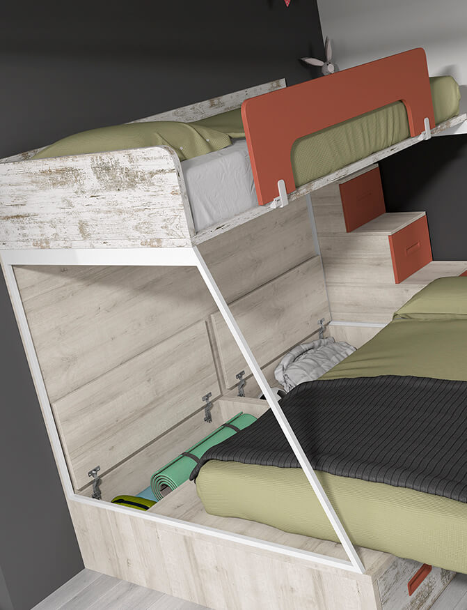 Dormitorio juvenil ref. 125/361
