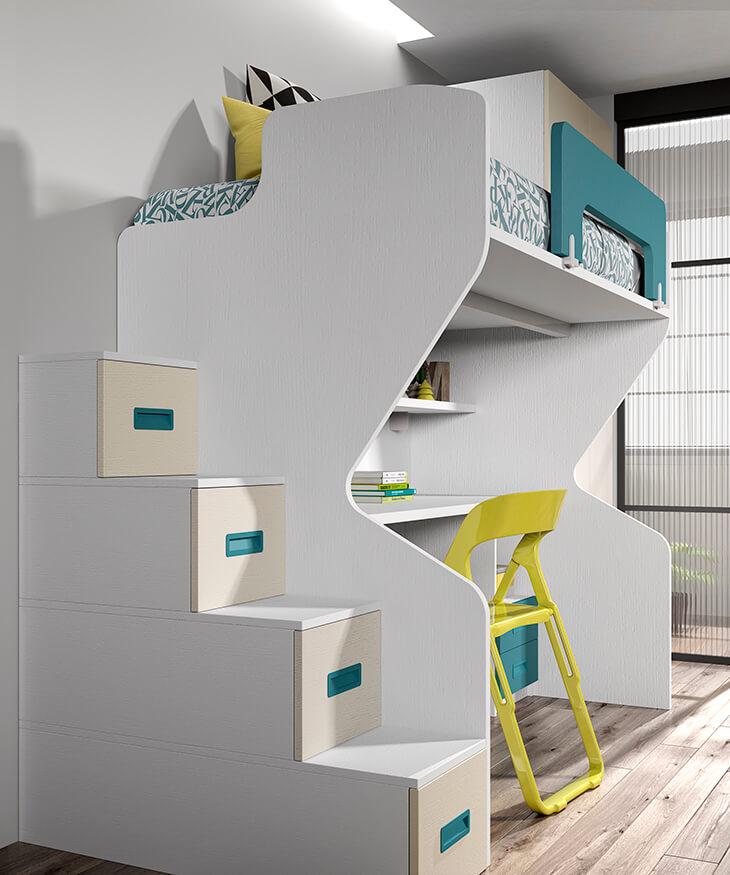 Dormitorio juvenil ref. 125/362