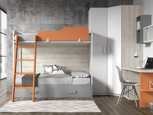 Dormitorio juvenil ref. 125/364