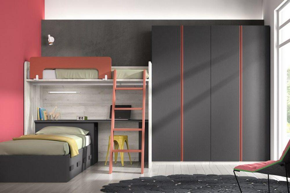 Dormitorio juvenil ref. 125/365