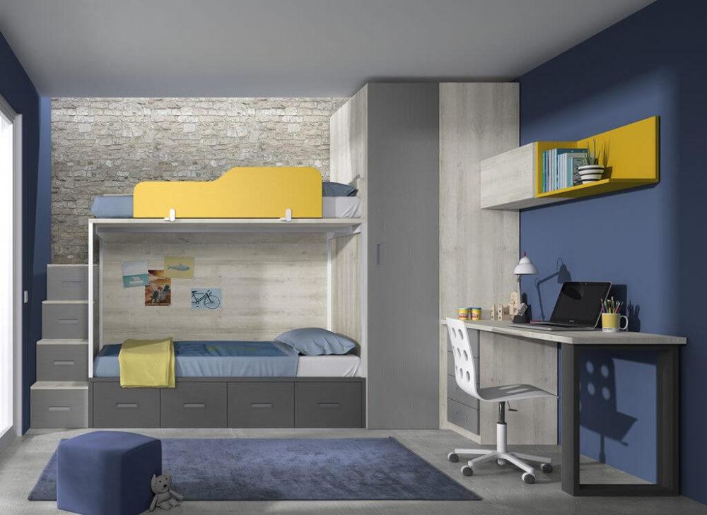 Dormitorio juvenil ref. 125/368