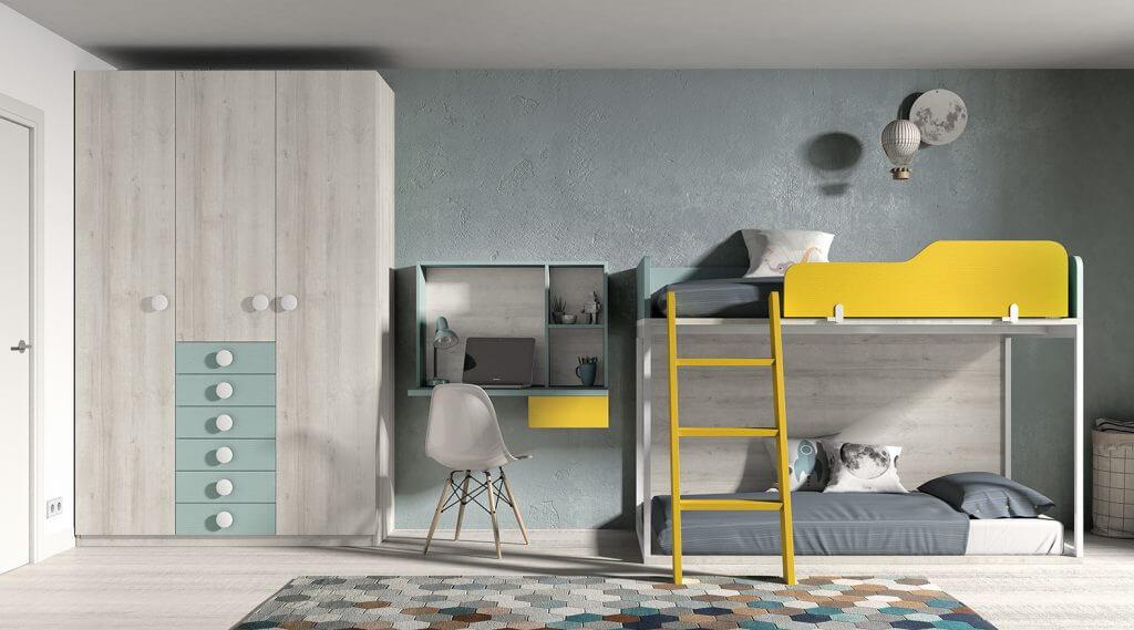 Dormitorio juvenil ref. 125/373