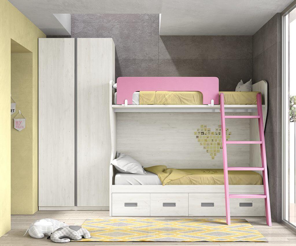 Dormitorio juvenil ref. 125/374