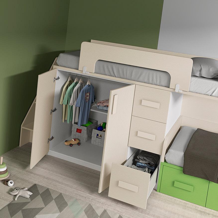 Dormitorio juvenil ref. 125/375