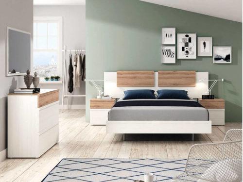 Dormitorio de matrimonio ref. 053/555
