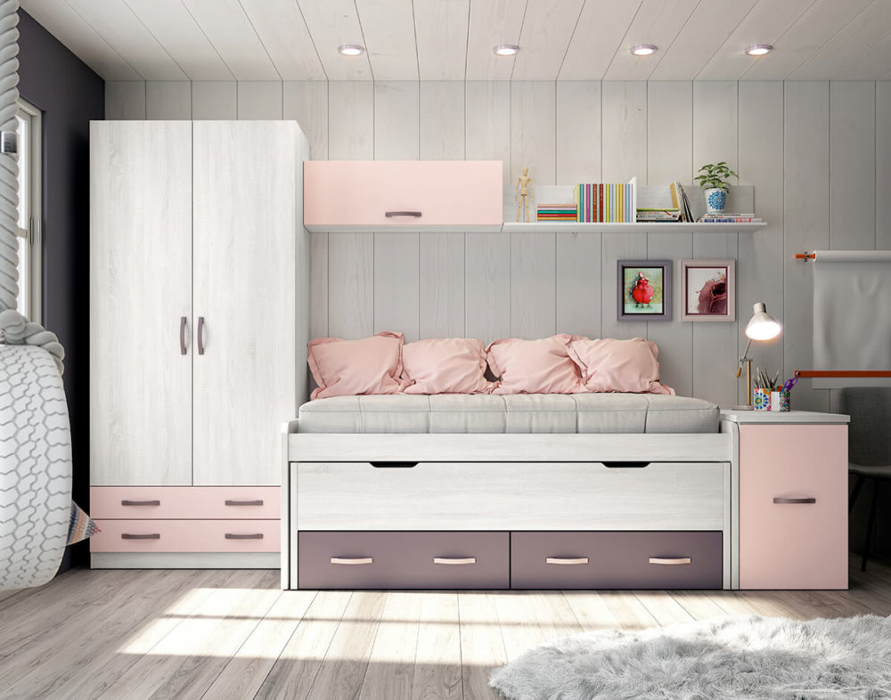 Dormitorio juvenil ref. 076/102