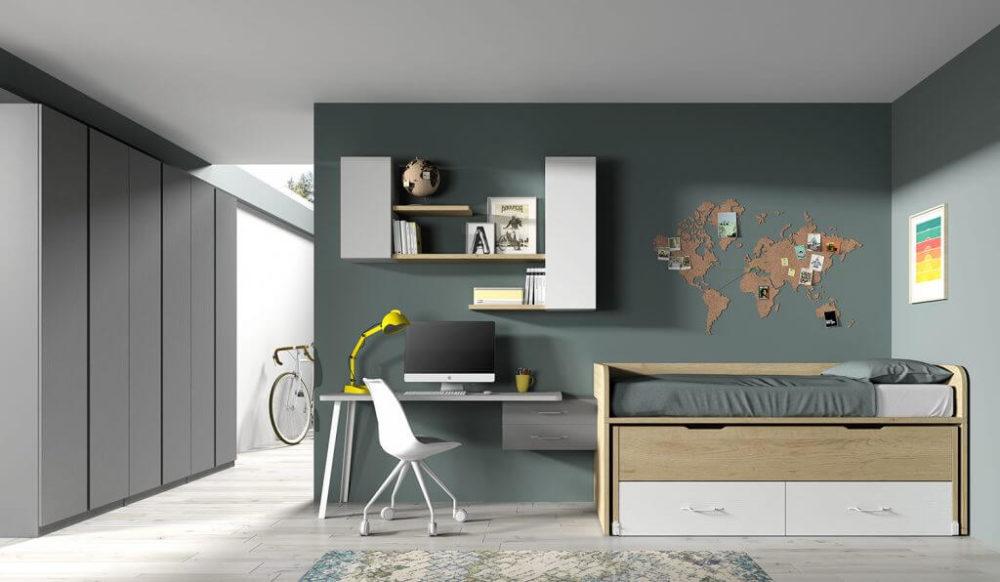 Dormitorio juvenil ref. 125/301