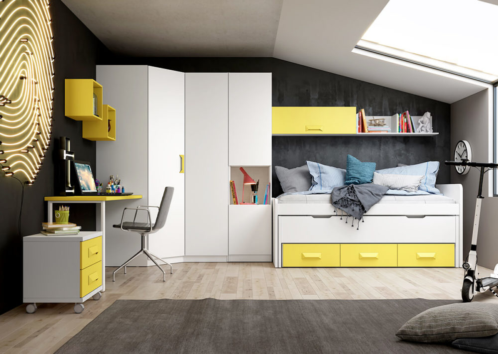 Dormitorio juvenil ref. 076/104