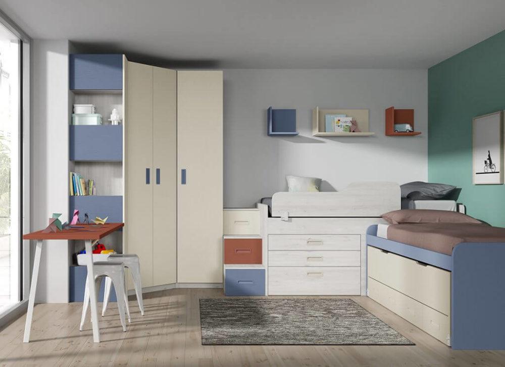 Dormitorio juvenil ref. 125/302