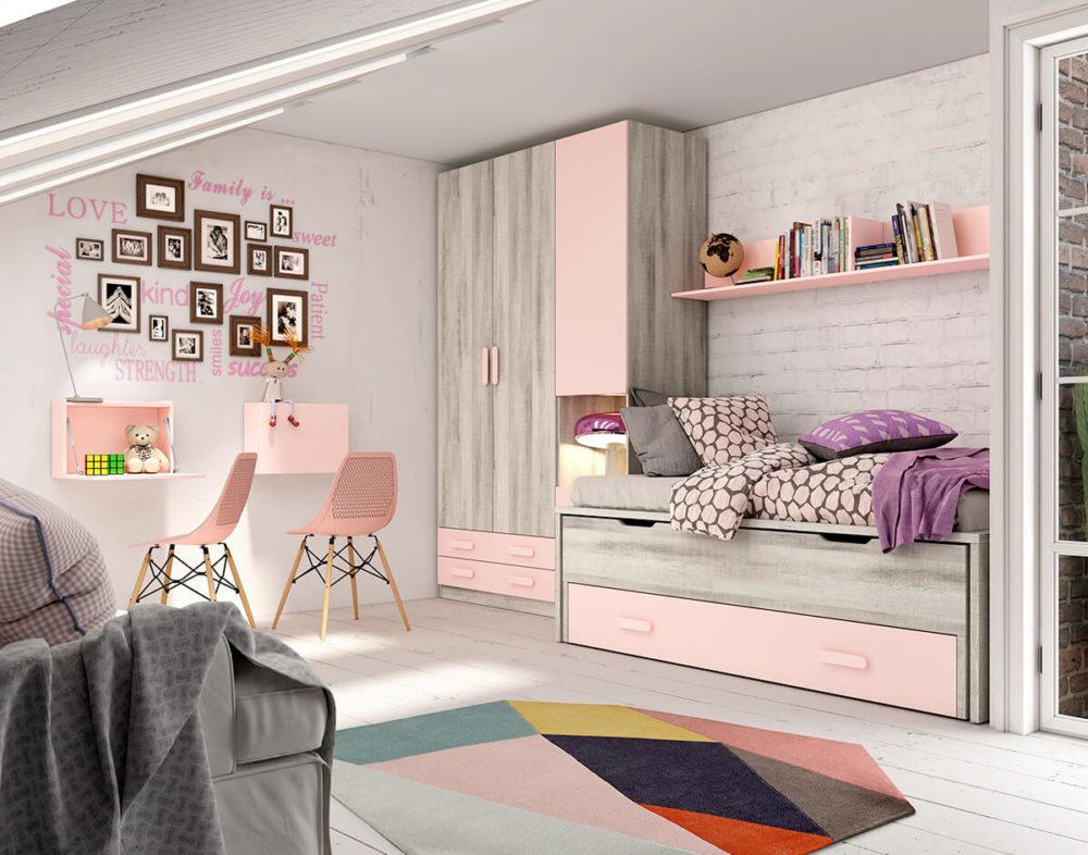 Dormitorio Juvenil ref. 076/106