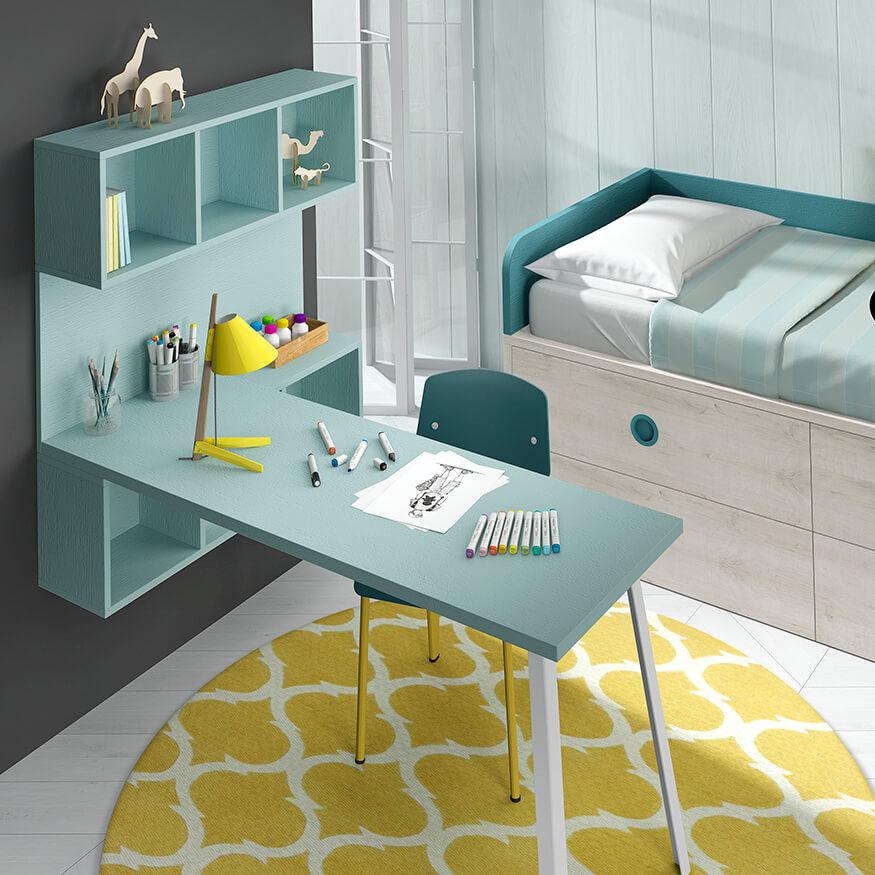 Dormitorio juvenil ref. 125/303