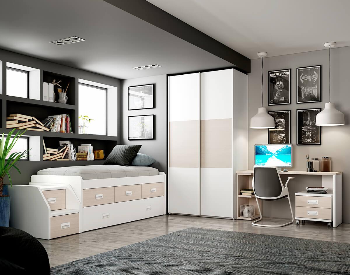Dormitorio Juvenil ref. 076/113