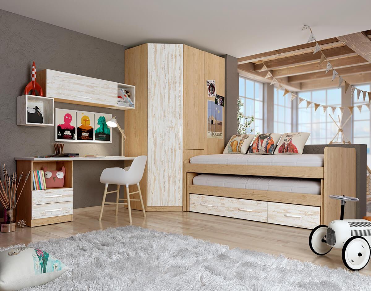 Dormitorio Juvenil ref. 076/115