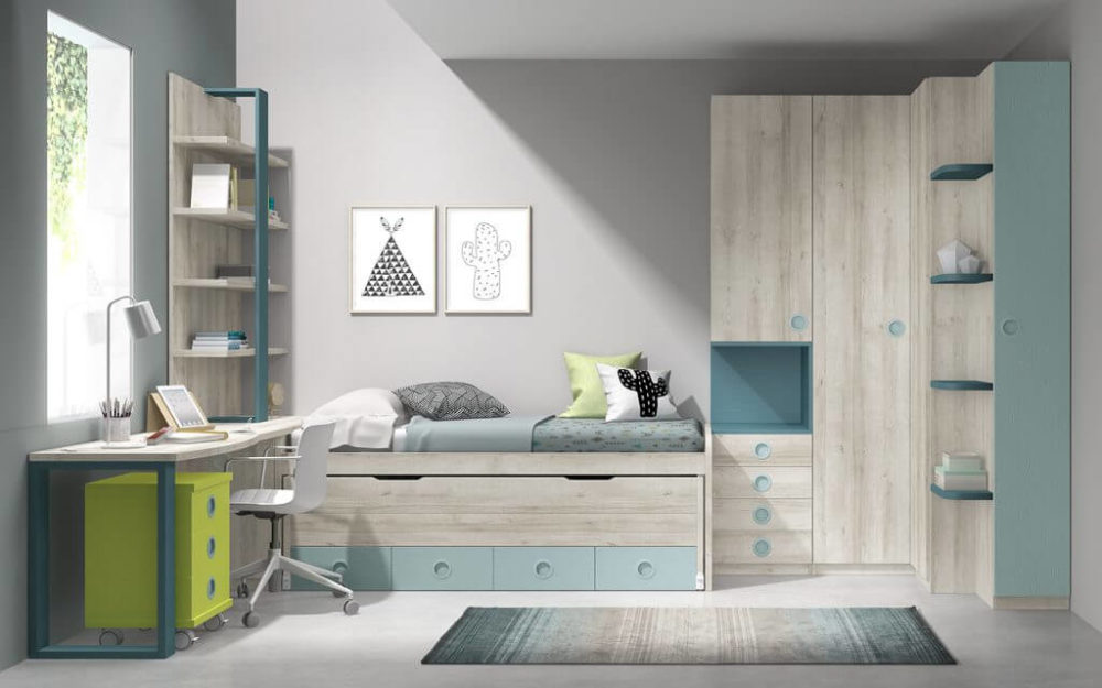 Dormitorio juvenil ref. 125/308