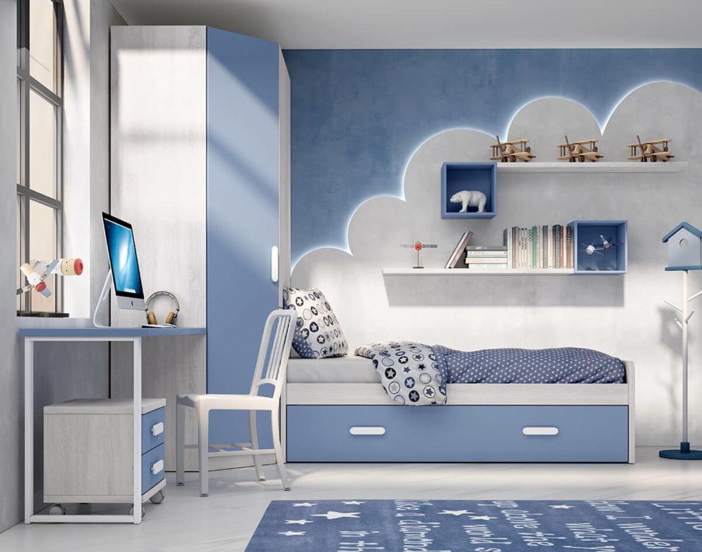 Dormitorio Juvenil ref. 076/122