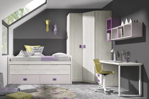 Dormitorio juvenil ref. 125/312
