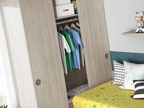 Dormitorio juvenil ref. 125/313
