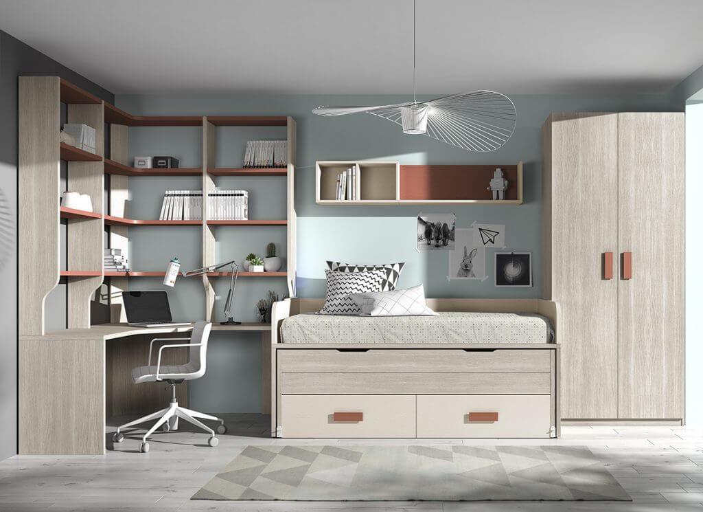 Dormitorio juvenil ref. 125/315