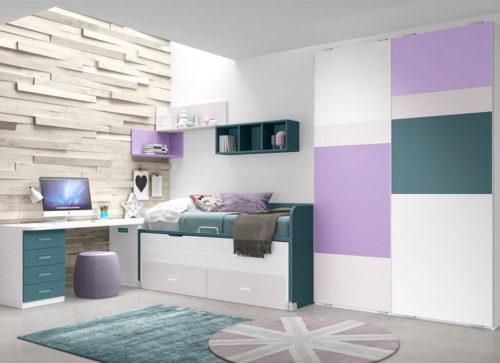 Dormitorio juvenil ref. 125/317