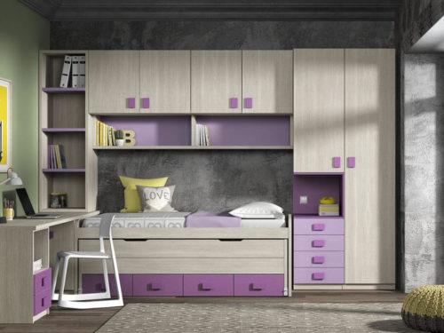 Dormitorio juvenil ref. 125/318