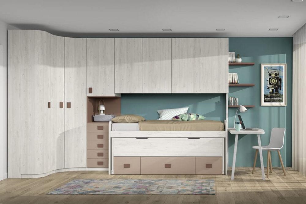 Dormitorio juvenil ref. 125/322