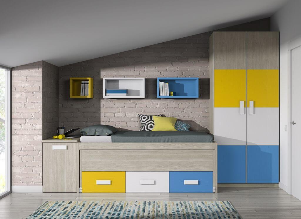 Dormitorio juvenil ref. 125/324