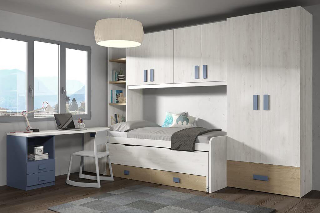 Dormitorio juvenil ref. 125/325
