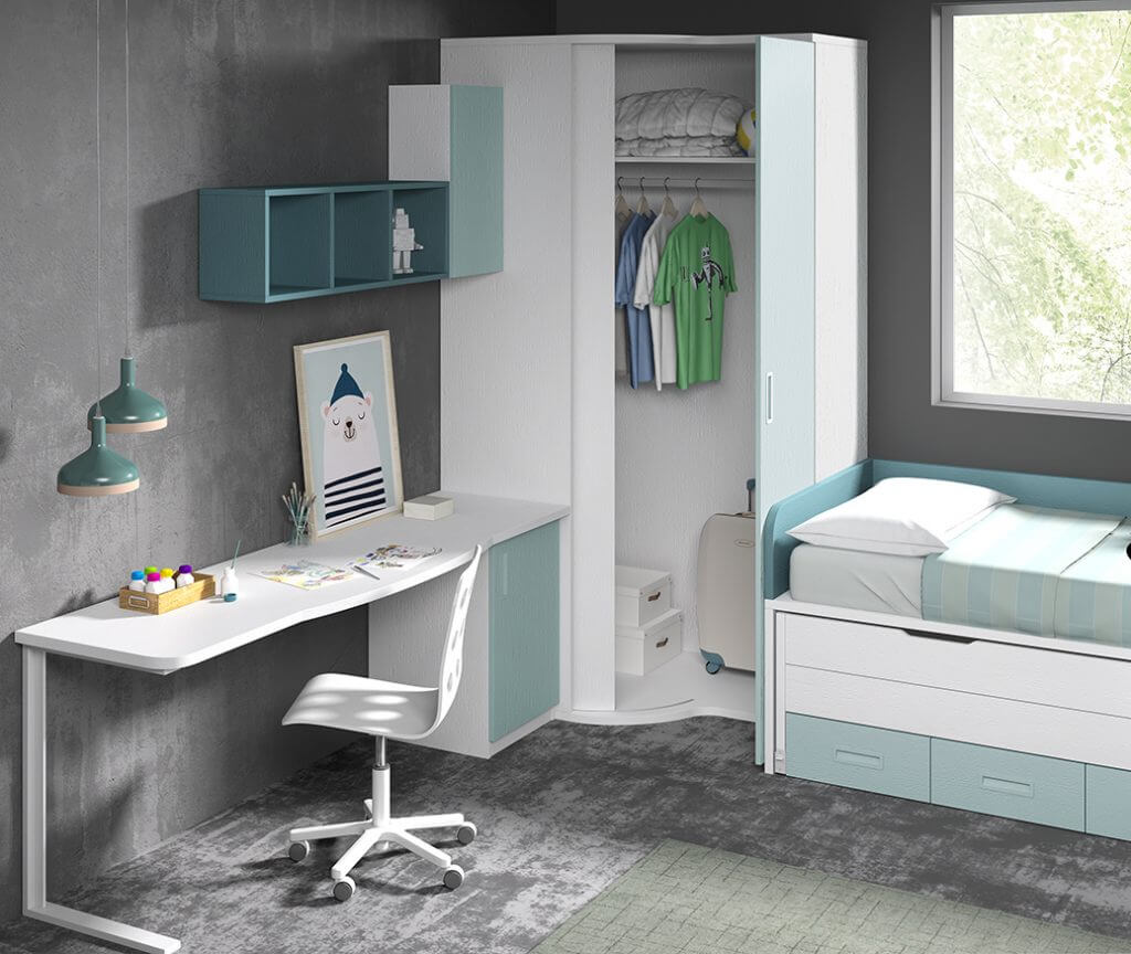 Dormitorio juvenil ref. 125/329