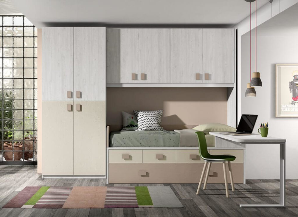 Dormitorio juvenil ref. 125/330