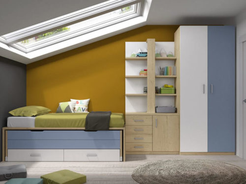 Dormitorio juvenil ref. 125/332