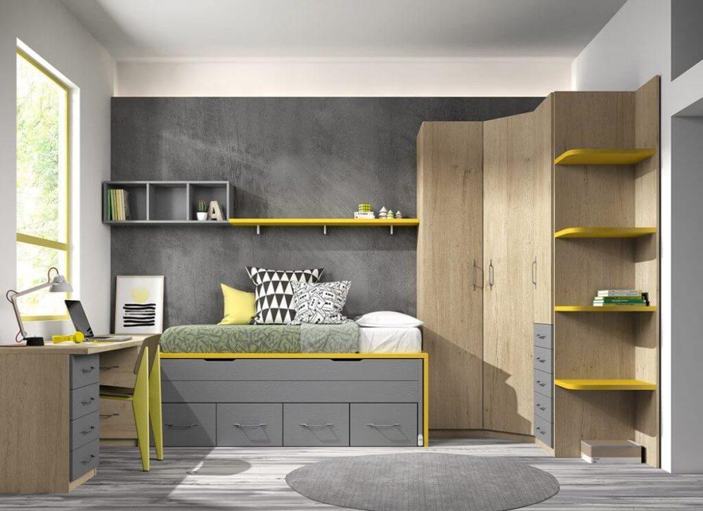 Dormitorio juvenil ref. 125/333