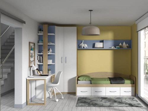 Dormitorio juvenil ref. 125/338