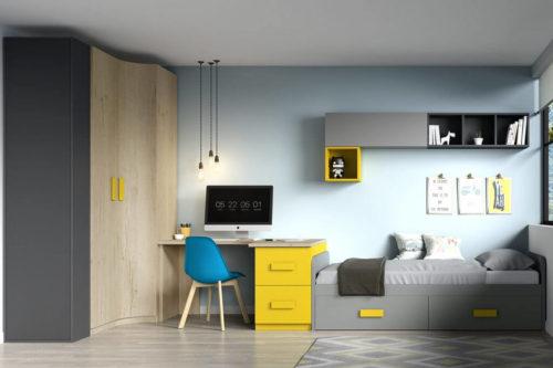 Dormitorio juvenil ref. 125/343