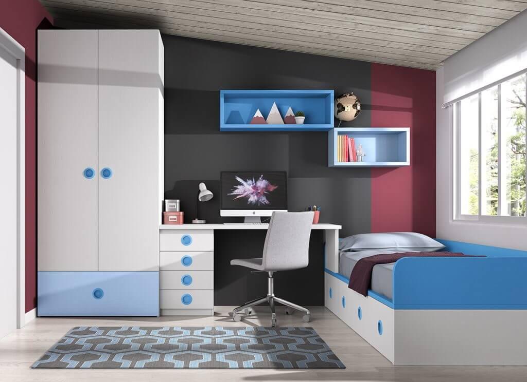 Dormitorio juvenil ref. 125/344