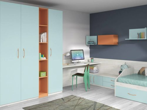 Dormitorio juvenil ref. 125/347