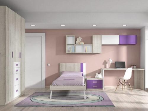 Dormitorio juvenil ref. 125/377