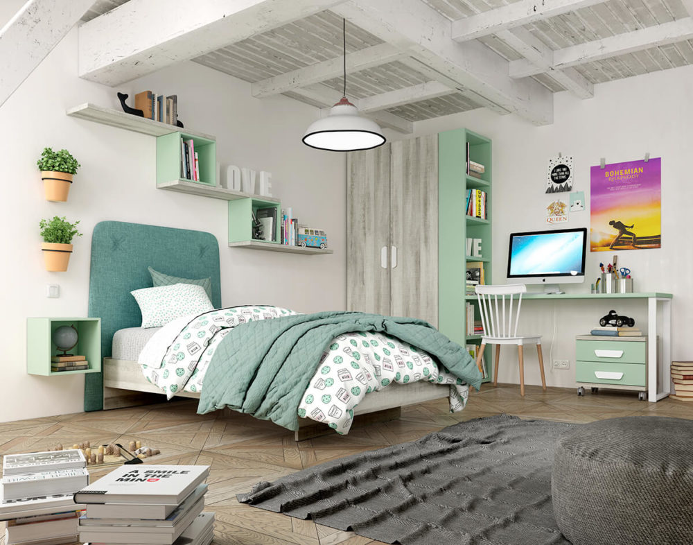 Dormitorio Juvenil ref. 076/134