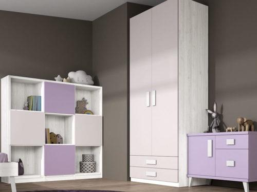 Dormitorio juvenil ref. 125/380