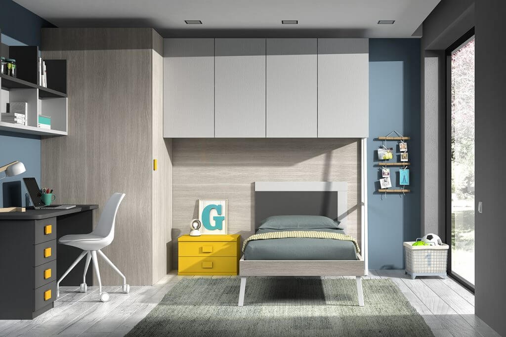 Dormitorio juvenil ref. 125/381