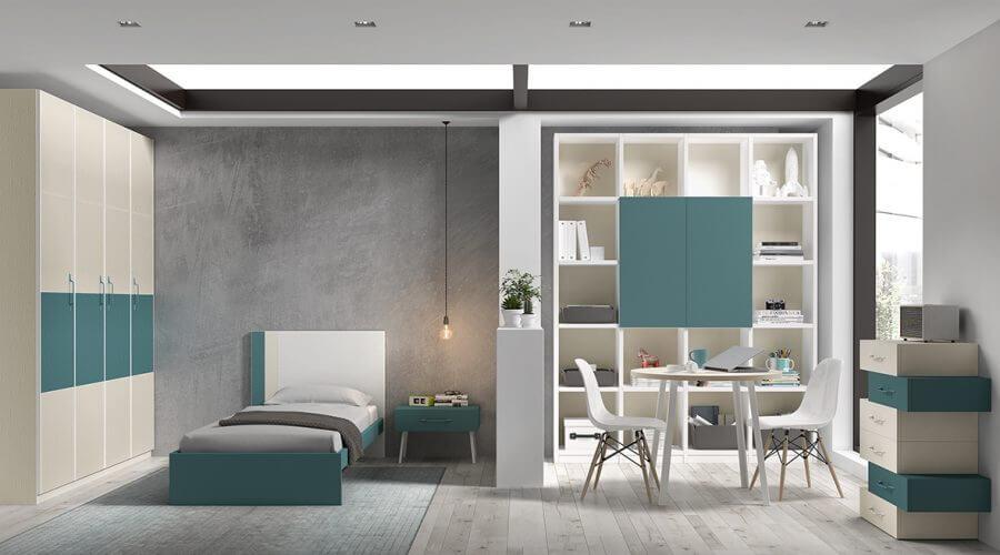 Dormitorio juvenil ref. 125/386