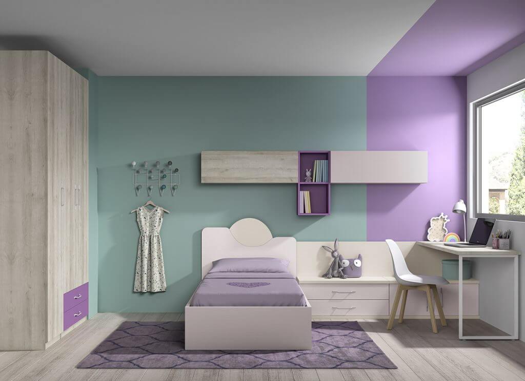Dormitorio juvenil ref. 125/388