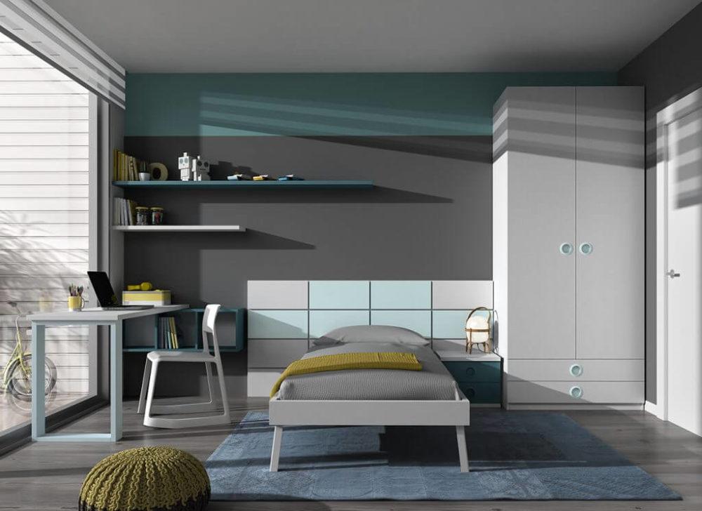 Dormitorio juvenil ref. 125/390