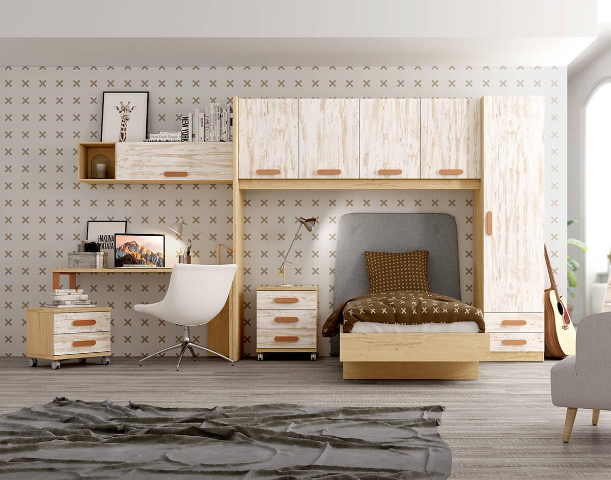 Dormitorio Juvenil ref. 076/131